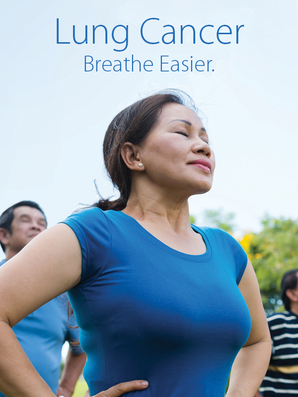 Lung Cancer - Breate Easier Banner