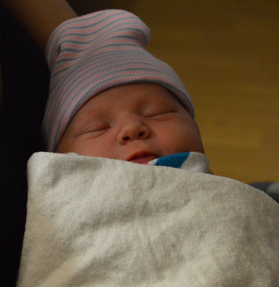 It's a girl! The first baby born at the Center for Family ...