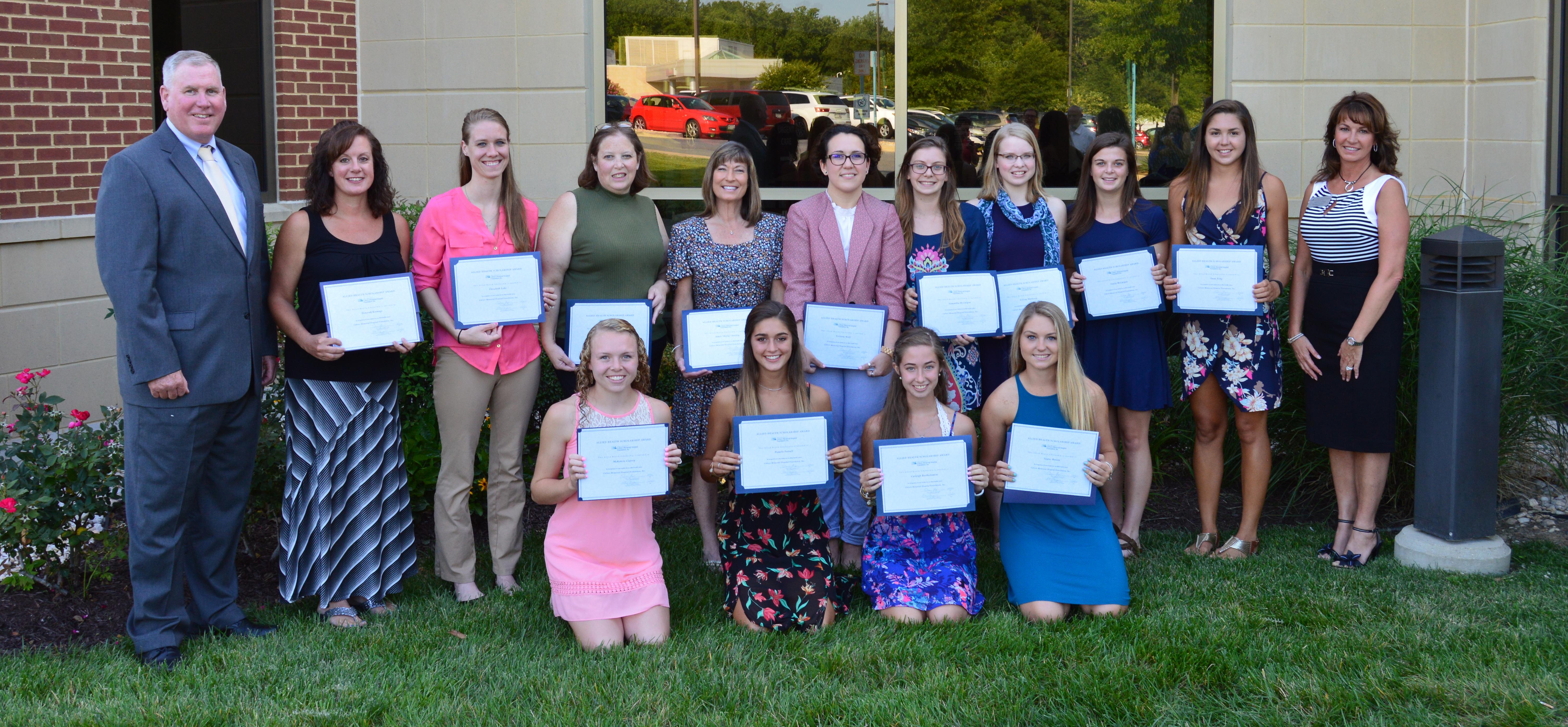 CalvertHealth Foundation Celebrates Scholarship Recipients